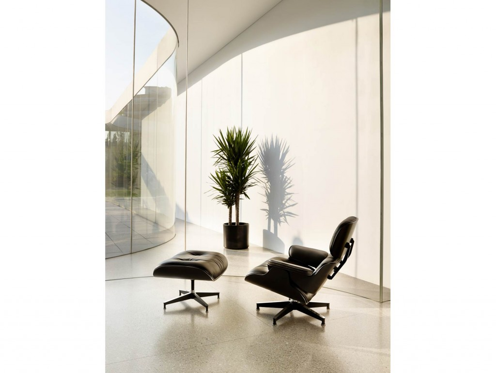 living-lounge-09 - Eames Lounge Chair and Ottoman